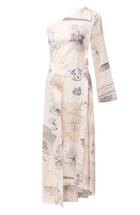 Женское шелковое платье RUBAN разноцветного цвета, арт. RPW20/21-10.3.52.0.3 | Фото 1