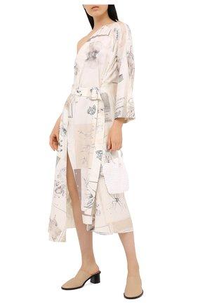 Женское шелковое платье RUBAN разноцветного цвета, арт. RPW20/21-10.3.52.0.3 | Фото 2