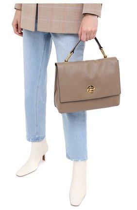 Женская сумка liya medium COCCINELLE бежевого цвета, арт. E1 GD0 18 01 01 | Фото 2