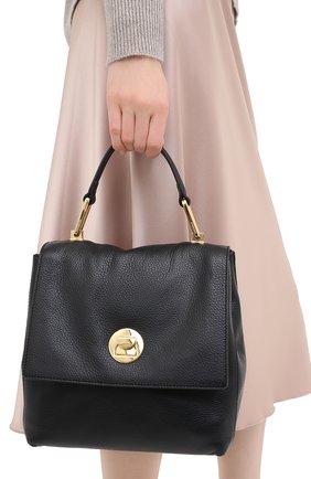 Женская сумка liya COCCINELLE черного цвета, арт. E1 GD0 54 10 01 | Фото 2