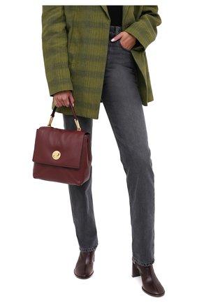 Женская сумка liya COCCINELLE бордового цвета, арт. E1 GD0 54 10 01 | Фото 2