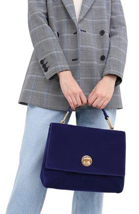 Женская сумка liya medium COCCINELLE синего цвета, арт. E1 GD1 18 01 01 | Фото 2