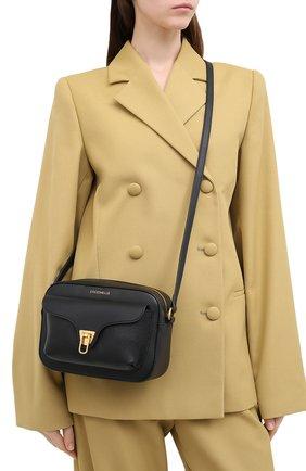 Женская сумка beat soft COCCINELLE черного цвета, арт. E1 GF6 15 02 01 | Фото 2