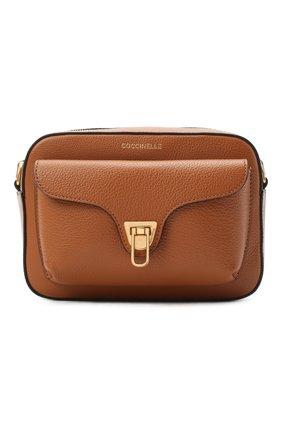 Женская сумка beat soft COCCINELLE коричневого цвета, арт. E1 GF6 15 02 01 | Фото 1