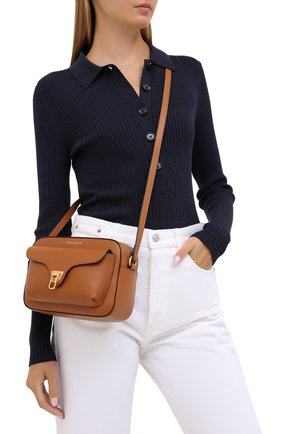 Женская сумка beat soft COCCINELLE коричневого цвета, арт. E1 GF6 15 02 01 | Фото 2