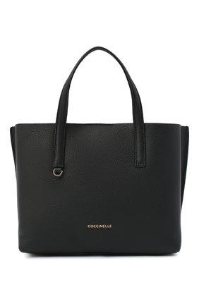 Женская сумка matinee COCCINELLE черного цвета, арт. E1 GJA 18 01 01 | Фото 1