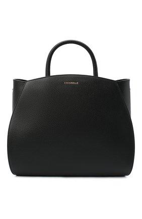 Женская сумка concrete medium COCCINELLE черного цвета, арт. E1 GLA 18 01 01 | Фото 1