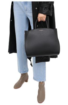 Женская сумка concrete medium COCCINELLE черного цвета, арт. E1 GLA 18 01 01 | Фото 2