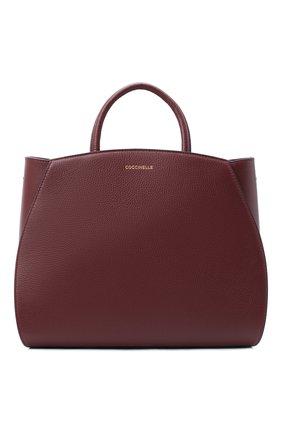 Женская сумка concrete medium COCCINELLE бордового цвета, арт. E1 GLA 18 01 01 | Фото 1