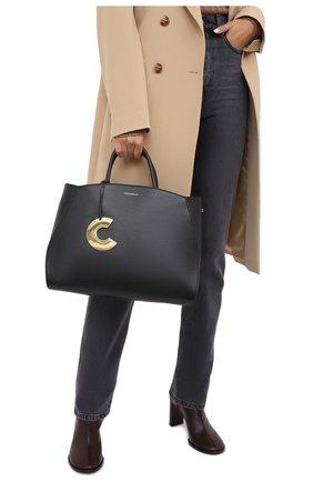 Женская сумка concrete large COCCINELLE черного цвета, арт. E1 GLA 18 02 01 | Фото 2