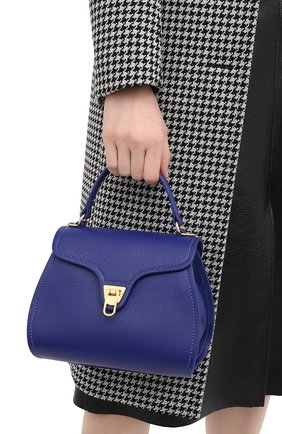 Женская сумка marvin small COCCINELLE синего цвета, арт. E1 GP0 55 01 01 | Фото 2
