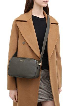 Женская сумка rendez-vous small COCCINELLE зеленого цвета, арт. E1 GT0 15 01 01 | Фото 2