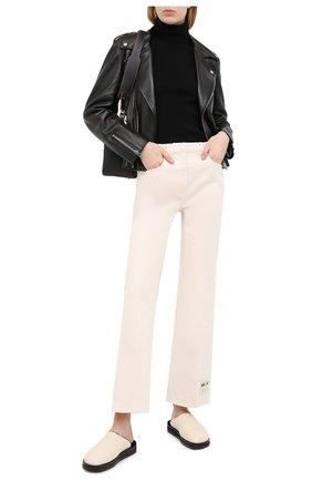 Женская кожаная куртка GUCCI черного цвета, арт. 629189/XN336   Фото 2