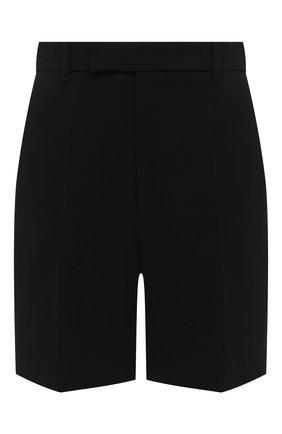 Женские шорты из вискозы GUCCI черного цвета, арт. 619500/ZKR01 | Фото 1