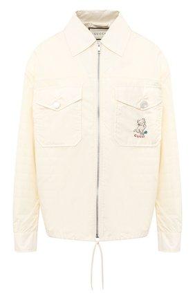 Женская куртка GUCCI белого цвета, арт. 619422/ZAE8W | Фото 1