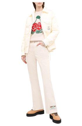 Женская куртка GUCCI белого цвета, арт. 619422/ZAE8W | Фото 2
