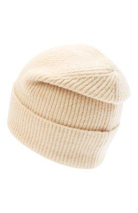 Женский шапка ALLUDE бежевого цвета, арт. 205/65030 | Фото 2