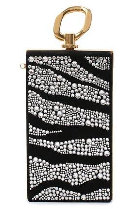 Женский клатч BALMAIN черного цвета, арт. UN1S460/AVZS | Фото 1