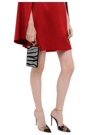 Женский клатч BALMAIN черного цвета, арт. UN1S460/AVZS | Фото 2