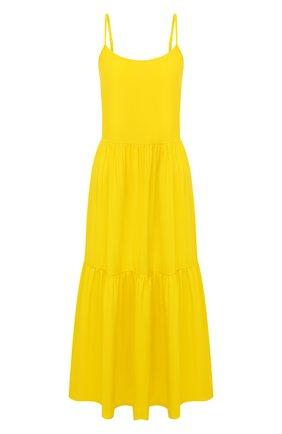 Женское платье-миди MARIE JO желтого цвета, арт. 1003294   Фото 1