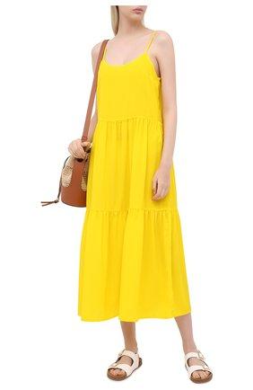 Женское платье-миди MARIE JO желтого цвета, арт. 1003294   Фото 2