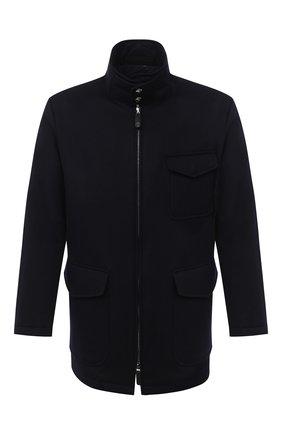 Мужская кашемировая куртка GIORGIO ARMANI темно-синего цвета, арт. 0WG0C04B/T00J0 | Фото 1
