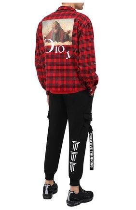Мужская рубашка DIEGO VENTURINO красного цвета, арт. FW20-DV CMC FZDAC | Фото 2