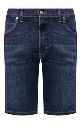 Мужские джинсовые шорты DOLCE & GABBANA синего цвета, арт. GY4JED/G8CR6 | Фото 1