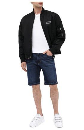 Мужские джинсовые шорты DOLCE & GABBANA синего цвета, арт. GY4JED/G8CR6 | Фото 2