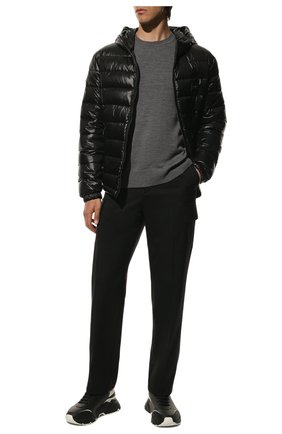 Мужская пуховая куртка DOLCE & GABBANA черного цвета, арт. G9RE2T/G7XGZ | Фото 2