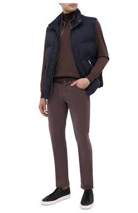 Мужской хлопковые брюки JACOB COHEN бордового цвета, арт. J688 C0MF 08805-V/54 | Фото 2