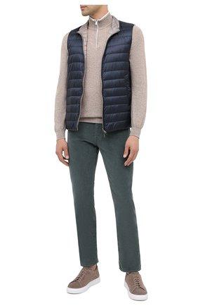 Мужской хлопковые брюки JACOB COHEN зеленого цвета, арт. J688 C0MF 08805-V/54 | Фото 2