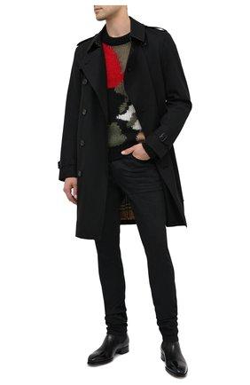 Мужские джинсы SAINT LAURENT черного цвета, арт. 622876/Y0500 | Фото 2