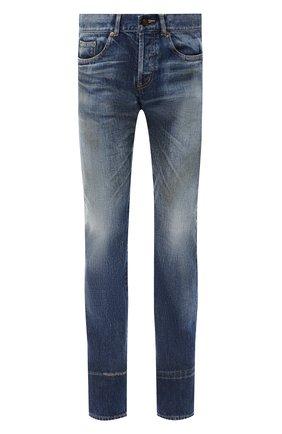 Мужские джинсы SAINT LAURENT синего цвета, арт. 597052/Y945Q | Фото 1