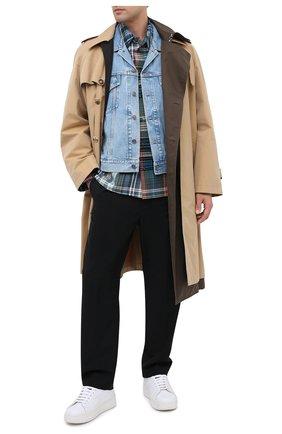 Мужской джинсовый жилет GUCCI голубого цвета, арт. 623944/XDA85 | Фото 2