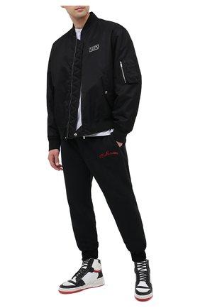 Мужские кожаные кеды sl24 SAINT LAURENT белого цвета, арт. 610618/1JZC0 | Фото 2