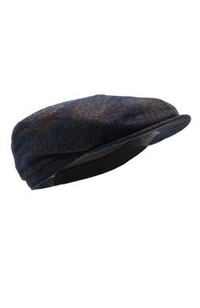 Мужская шерстяное кепи BRUNELLO CUCINELLI темно-синего цвета, арт. MN4799945 | Фото 1
