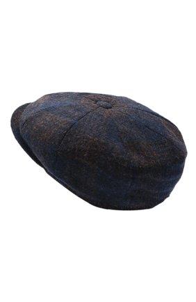 Мужская шерстяное кепи BRUNELLO CUCINELLI темно-синего цвета, арт. MN4799945 | Фото 2