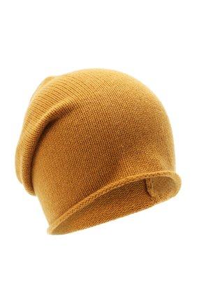 Мужская кашемировая шапка ALLUDE светло-коричневого цвета, арт. 205/11246 | Фото 1
