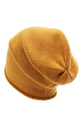 Мужская кашемировая шапка ALLUDE светло-коричневого цвета, арт. 205/11246 | Фото 2