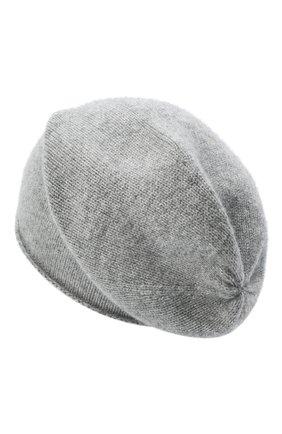 Мужская кашемировая шапка ALLUDE серого цвета, арт. 205/11246 | Фото 2