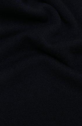 Мужской кашемировый шарф ALLUDE темно-синего цвета, арт. 205/30025 | Фото 2