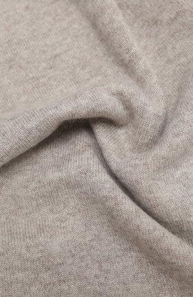 Мужской кашемировый шарф ALLUDE бежевого цвета, арт. 205/30025 | Фото 2