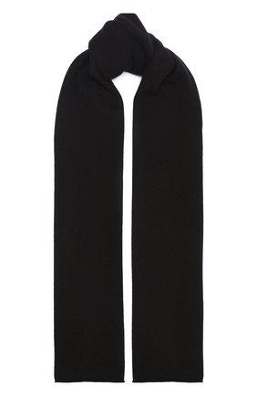 Мужской кашемировый шарф ALLUDE темно-коричневого цвета, арт. 205/30025 | Фото 1