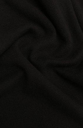 Мужской кашемировый шарф ALLUDE темно-коричневого цвета, арт. 205/30025 | Фото 2