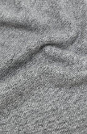 Мужской кашемировый шарф ALLUDE серого цвета, арт. 205/30025 | Фото 2