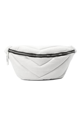 Мужская кожаная поясная сумка VIC MATIE белого цвета, арт. 1Y0526T.999N310110 | Фото 1