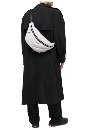 Мужская кожаная поясная сумка VIC MATIE белого цвета, арт. 1Y0526T.999N310110 | Фото 2