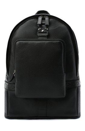 Мужской кожаный рюкзак VIC MATIE черного цвета, арт. 1Y0524T.999C7MB001 | Фото 1