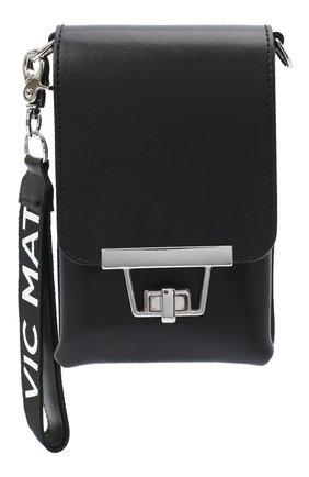 Мужская кожаная сумка VIC MATIE черного цвета, арт. 1Y0508T.999Y140101 | Фото 1